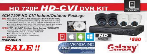 HD CVI Surveillance Camera Package 1