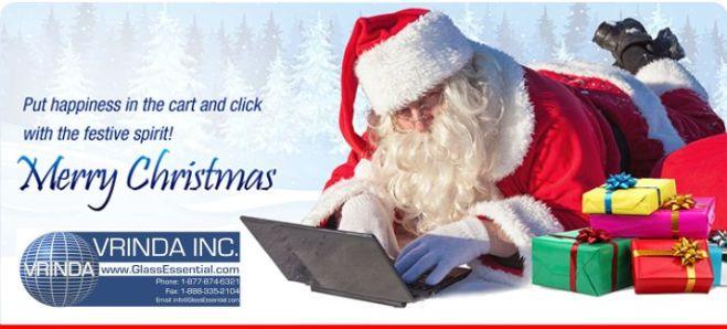 Merry Chrismas from GlassEssential.com